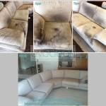 Βιολογικός καθαρισμός καναπέ (πολύ επιβαρυμένος από κατοικίδιο)